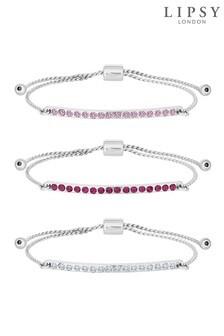 Lipsy Toggle Bracelets 3 Pack