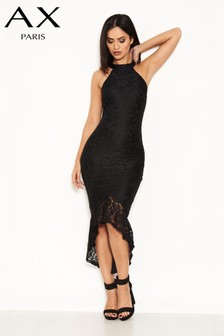 AX Paris Dip Hem Lace Dress