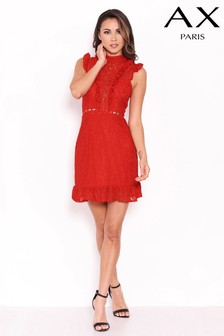 AX Paris Frill Lace Mini Dress