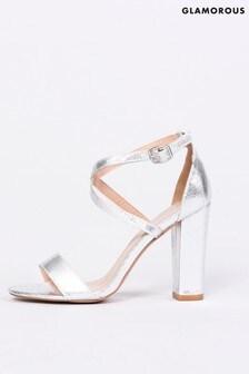 Glamorous Criss Cross Strap Sandal