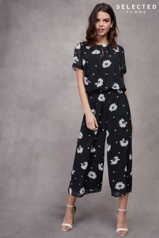 Selected Femme Short Sleeve Jumpsuit