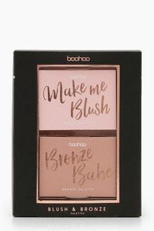 Boohoo Blush & Bronze Palette Duo