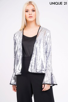 Unique 21 Sequin Jacket