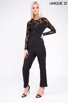 Unique 21 Lace Jumpsuit