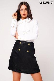 Твидовая юбка Unique 21