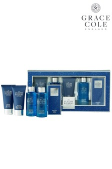 Grace Cole The Luxury Bathing Company Pour Homme Essential Grooming Gift Set