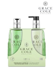 Grace Cole Grapefruit Lime & Mint 300ml Body Care Duo