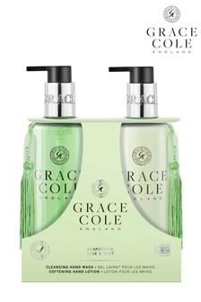 Grace Cole Grapefruit Lime & Mint 300ml Hand Care Duo