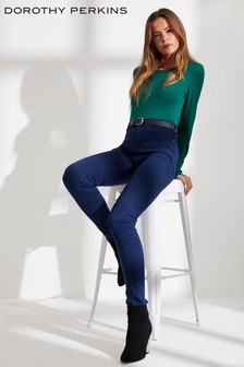 Dorothy Perkins Coated Super Skinny Jeans