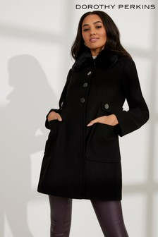 Dorothy Perkins Petite Dolly Coat