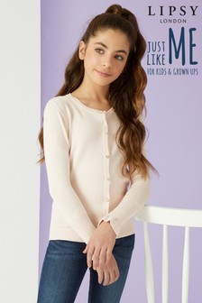 Lipsy Girl Diamonte Cardigan
