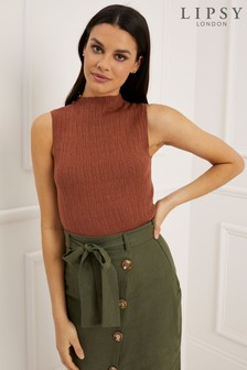 Lipsy Sleeveless Turtle Neck