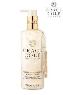 Grace Cole Nectarine Blossom & Grapefruit 300ml Hand Wash