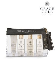 Grace Cole Nectarine Blossom & Grapefruit Travel Set