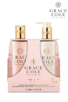 Grace Cole Vanilla Blush Peony Body Care Duo