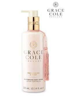Grace Cole Vanilla Blush And Peony Body Lotion 300ml