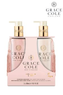 Grace Cole Vanilla Blush And Peony Hand Care Duo