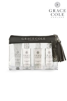 Grace Cole White Nectarine And Pear Travel Set