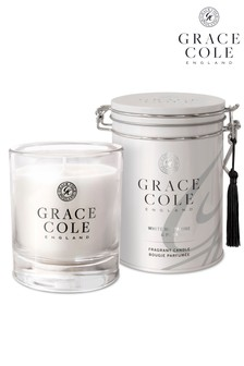 Grace Cole White Nectarine And Pear 200g Candle