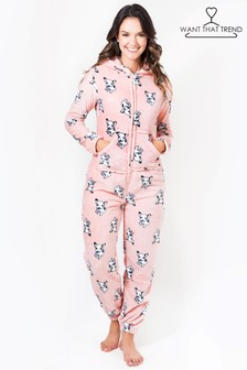 Want That Trend French Bulldog Onesie