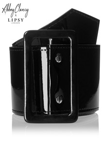Abbey Clancy x Lipsy PU Buckle Belt