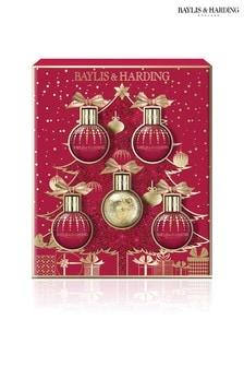 Baylis & Harding Midnight Fig & Pomegranate Festive Bauble Gift Set