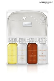 Baylis & Harding Signature 8 Piece Travel Bag Set