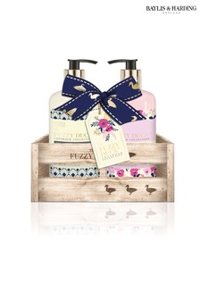 6084ba79ff Baylis   Harding Fuzzy Duck Cotswolds Floral Collection Hand Wash And  Lotion Set