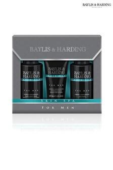 Baylis & Harding Skin Spa For Men Amber & Sandalwood Grooming Trio