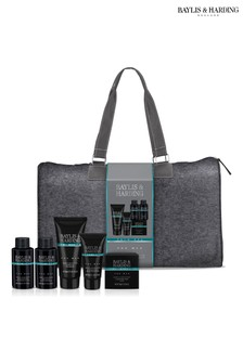 Baylis & Harding Skin Spa For Men Amber And Sandalwood Weekend Away Travel Bag