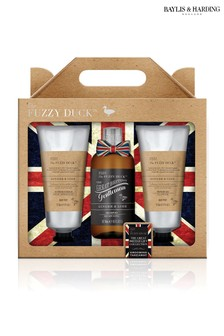 Baylis & Harding Fuzzy Duck Men's Ginger And Lime Luxury Grooming Trio