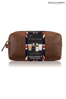 Baylis & Harding Fuzzy Duck Men's Ginger And Lime Travel Essentials Wash Bag Gift Set