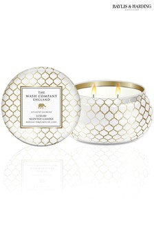 The Wash Company England Luxury Oriental Jasmine 2 Wick Candle