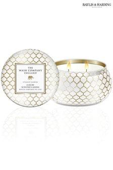 Baylis & Harding The Wash Company England Luxury Oriental Jasmine 2 Wick Candle