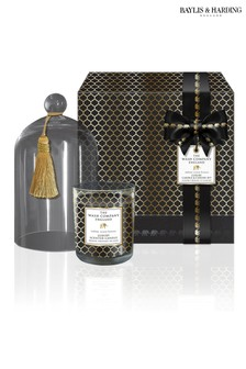 The Wash Company England Luxury Candle And Cloche Set