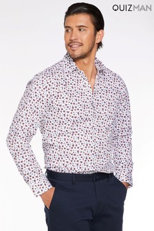 Quizman Floral Long Sleeve Shirt