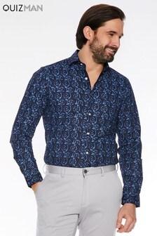 QuizMan Spiral Long Sleeve Shirt
