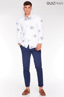 Quizman Floral Long Sleeve Shirt