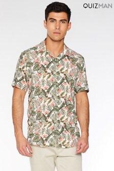 Quizman Slim Fit Short Sleeve Shirt