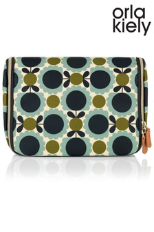 Orla Kiely Scallop Flower Hanging Washbag