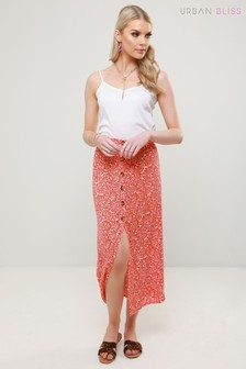 Urban Bliss Palm Print Skirt