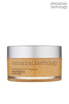 Elemental Herbology Macadamia & Papaya Body Scrub