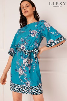 Lipsy Anya Geo Print Shift Dress