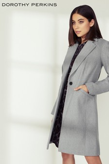 Dorothy Perkins Single Breasted Coat