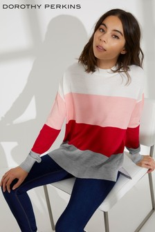 Dorothy Perkins Block Stripe Jumper
