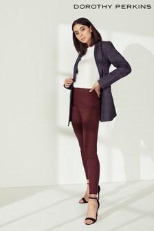 Dorothy Perkins Geometric Jacquard Bengaline Trousers