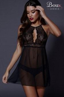 قميص نوم وقطعة ملابس داخلية Yvette من Boux Avenue