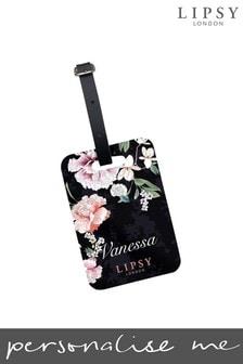 Personalised Lipsy  Naomi Floral Print Luggage Tag By Koko Blossom
