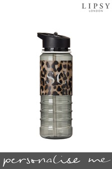 Personalised Lipsy Leopard Print Drinks Bottle By Koko Blossom