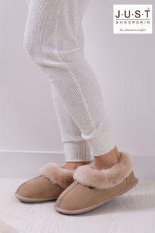 Just Sheepskin Ladies Classic Sheepskin Slippers